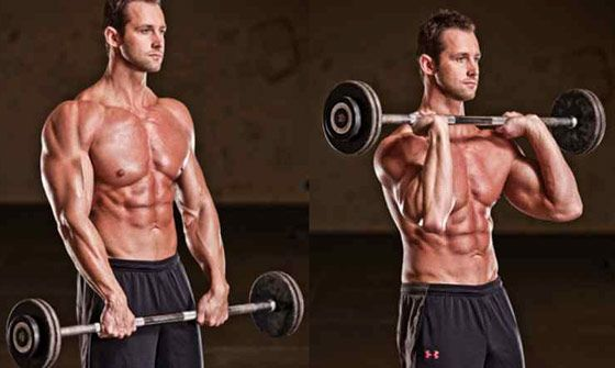 Ondulação bíceps pronação