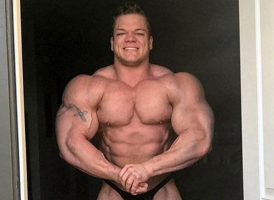 Bodybuilder Dallas McCarver