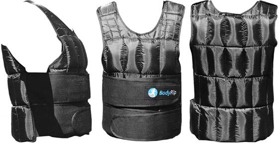 BodyRip Gilet lest/é 5/kg pour la perte de poids exercice /à la maison Gym Course /à Pied Veste de sport