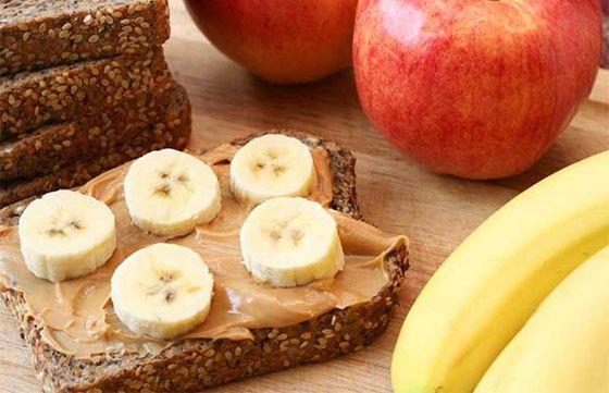 Quoi manger avant l'entraînement?