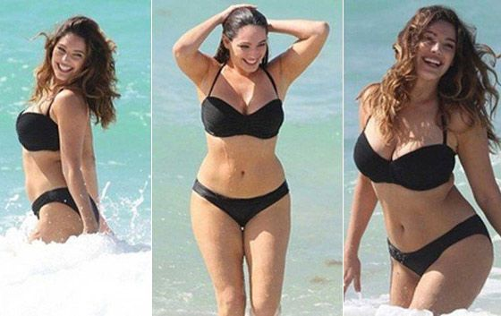 Kelly Brook hanches