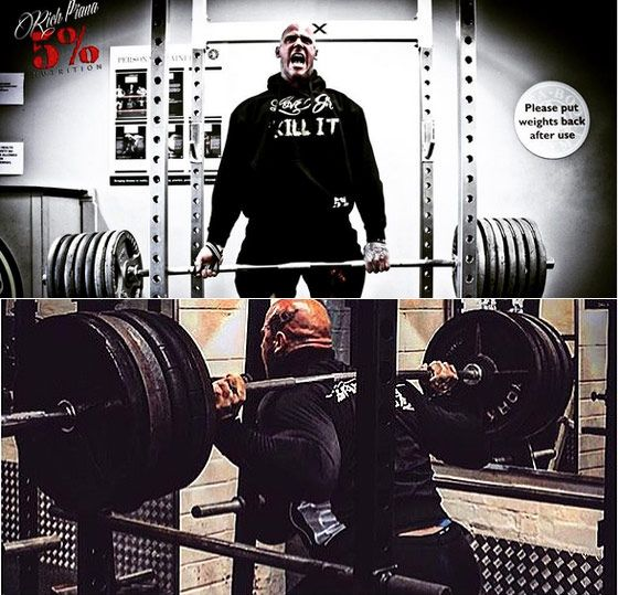 Martyn Ford squat