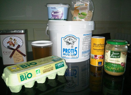 Assez Muffins protéinés RL86