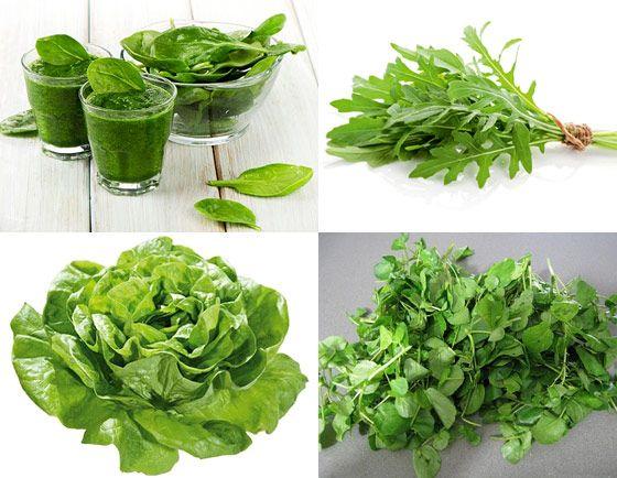 La salade verte bonne pour les muscles - Salade verte calorie ...