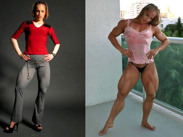 transformation physique femme avant apres