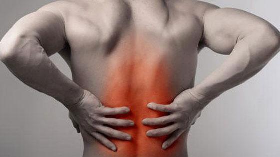 Si fait mal le dos sous lomoplate