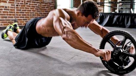 Acecy Roue abdominale pour exercices abdominaux /à la maison et /à la salle de sport