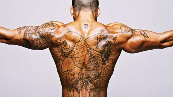 tatouage et musculation